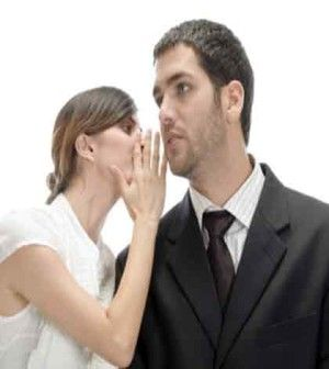 A couple communicating with each other to avoid problems in relationship
