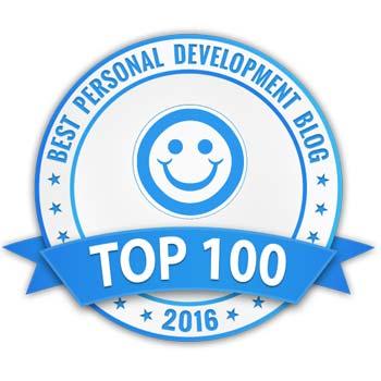 Best Personal Development blog 2016 award