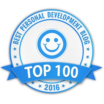 Best Personal Development blog 2016 award