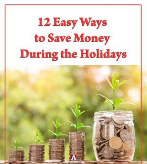 Coin plantations expressing ways to save money during the holidays