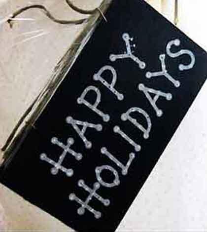 enjoy family celebrations and happy holidays