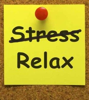 leave stress choose relax