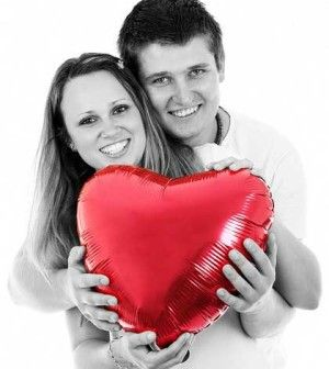 couple holding heart together to solve love problems in marriage