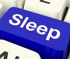 sleep button
