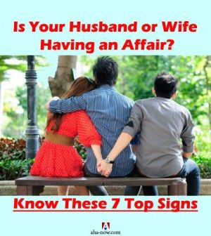 What to do when your wife has an affair