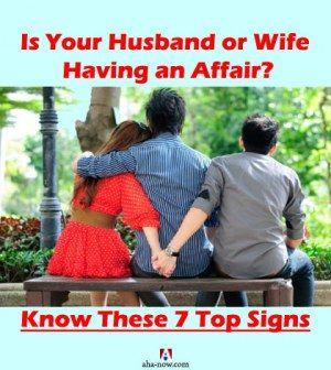 Husband or Wife Having an Affair