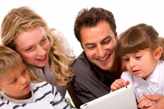 parents transmit knowledge to kids