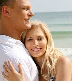 couple hug each other to rekindle love in marriage