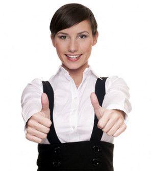woman encouraging personal qualities improvement