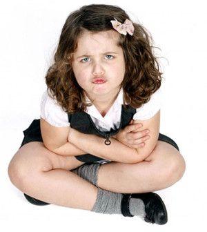 girl displaying problem behavior like your kids