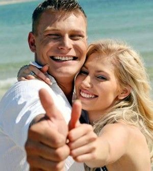 couple happy with the quality of life