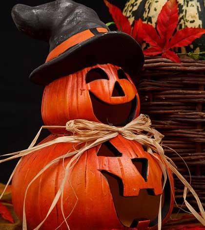 Halloween Ghost Post