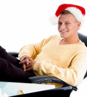 A man loves to take a break from blogging for the holidays