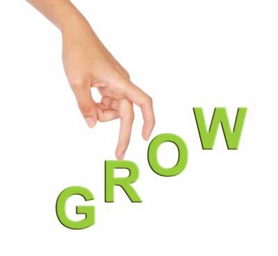 climbing finger symbol of keep moving forward