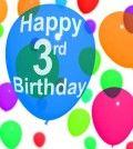 birthday balloon means keep moving forward