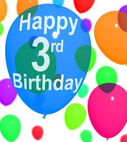Keep Moving Forward –  My 3rd Blog Anniversary