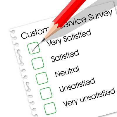 a form for website feedback survey