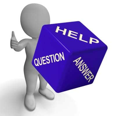 Person helping by sharing your problems in question and answer form