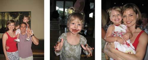 photos of Ana Hoffman's family