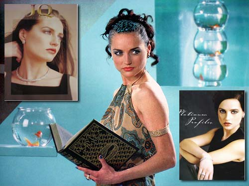 photos of Ana Hoffman as a model