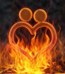 Is it love or lust symbol