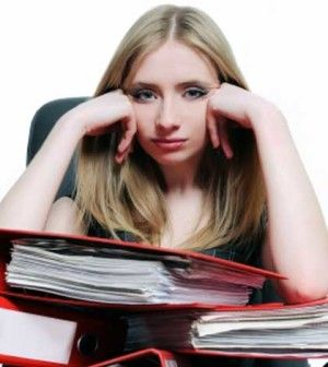 Overworked office girls needing time saving tips