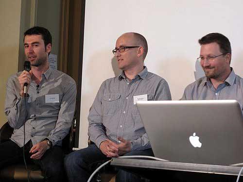 Yaro with Darren Rowse and Chris Garrett