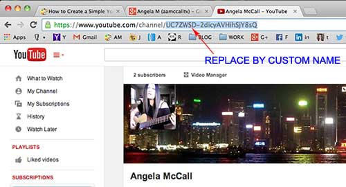 Customize URL to make YouTube video