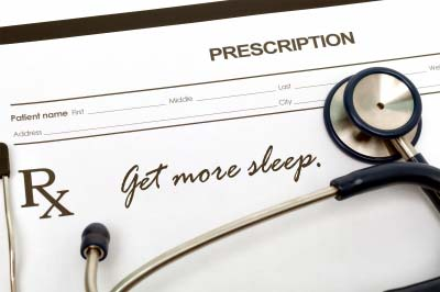 A doctor's prescription for sleep for better mental health
