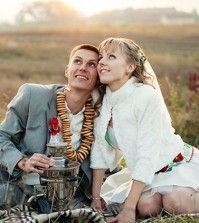 A couple in happy relationship