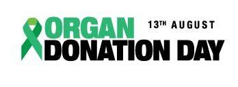 Organ donation day logo