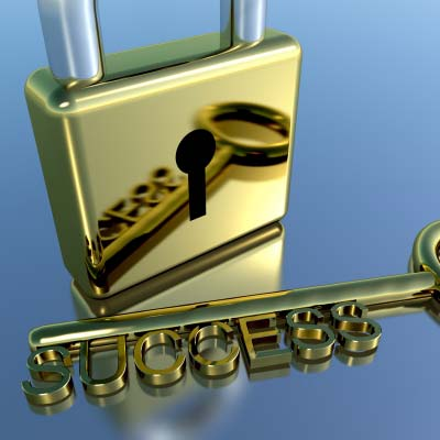 The lock and key of success