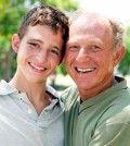 Grandchild in grandparents company