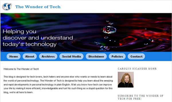 WonderOfTech Blog