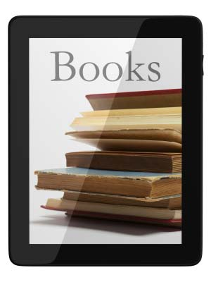Books seen within Kindle