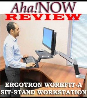 Ergotron WorkFit-A Sit-Stand Review