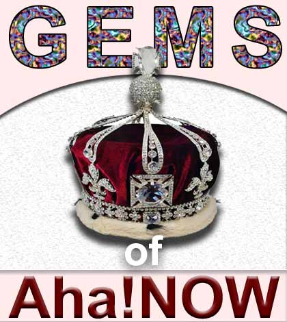 GEMS Of Aha!NOW – October 2014