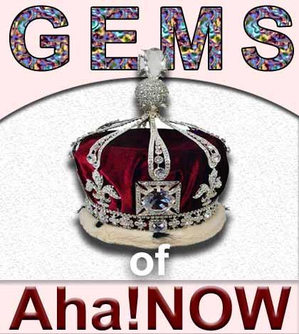 GEMS Of Aha!NOW – October 2014