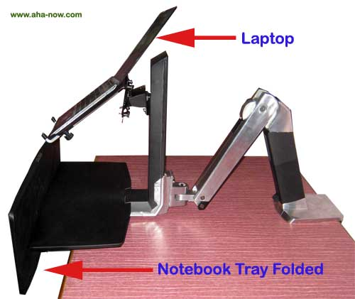 Sit-stand Notebook Workstation