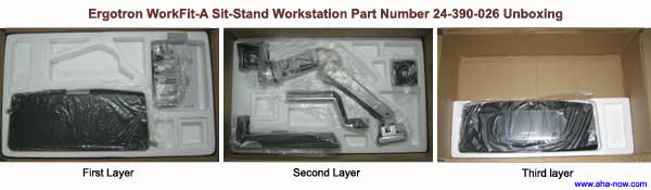 Sit-Stand Workstation Unboxing
