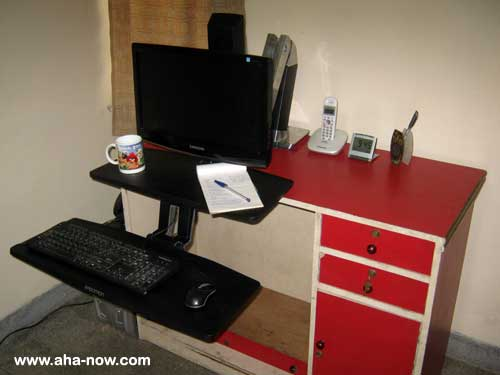 WorkFit-A Sit-stand Workstation