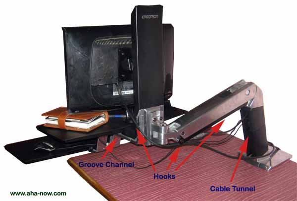 Wiring of the Sit-Stand Workstation
