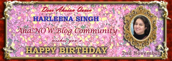 Ahaian Queen Harleena Singh Birthday Card