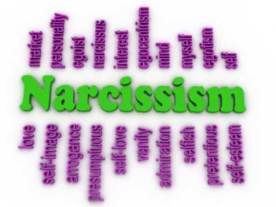 Banner of synonyms of Narcissism  or self-love