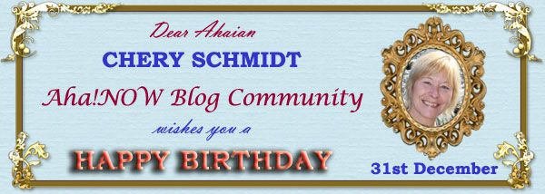 Ahaian Chery Schmidt Birthday Card