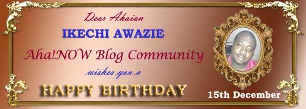 Ahaian Ikechi Awazie Birthday Card