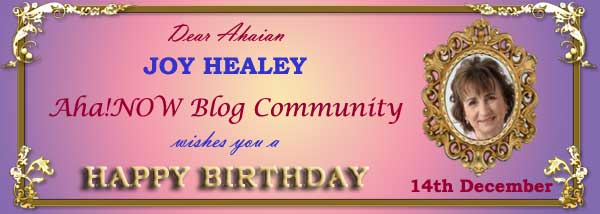 Ahaian Joy Healey Birthday Card