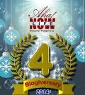 Aha!NOW 4th Anniversary Poster About Lessons of Blogging