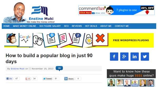 Enstine Muki Blog Post