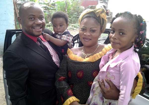 Enstine Muki Family Photo